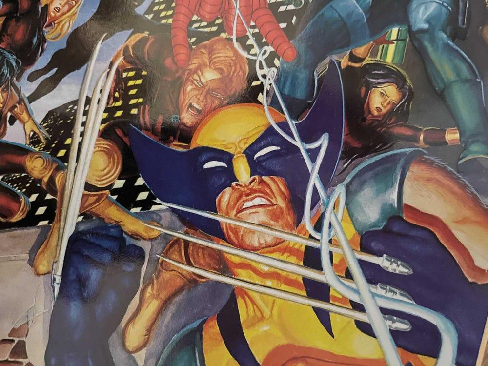 X战警漫画中的金刚狼
