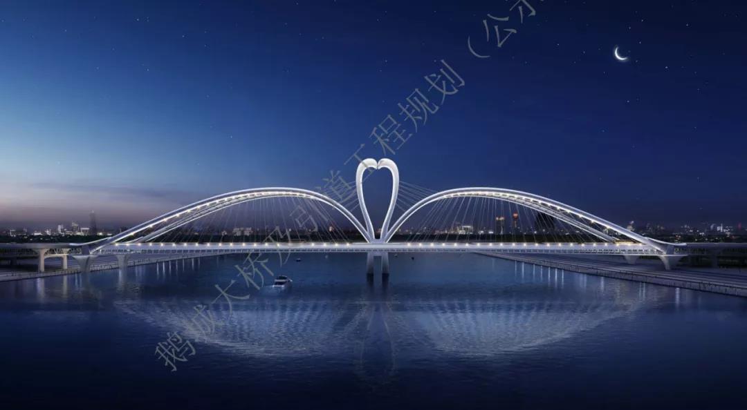 鹅城大桥效果图