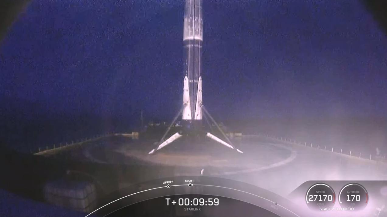 猎鹰9号一级火箭成功着陆