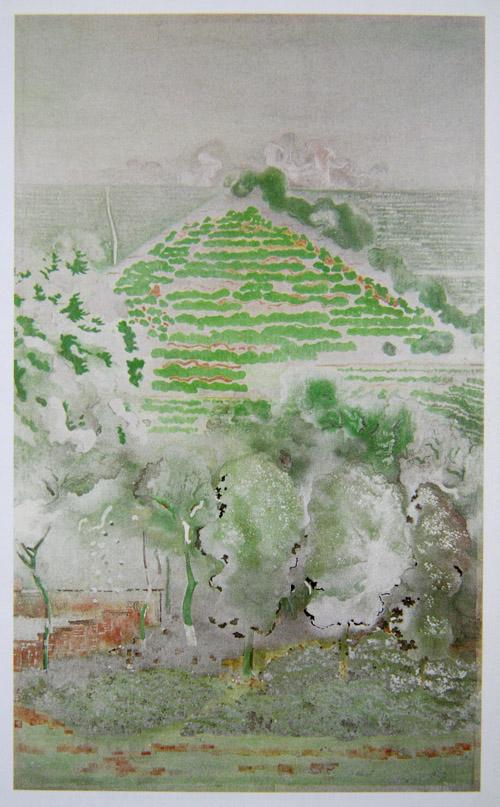 图13,山水画 《物华》 刘文洁