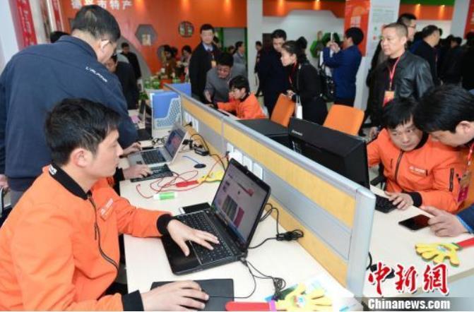 在江西德兴,返乡创业、加入农村电商的年轻人也越来越多。(资料图) 刘康 摄