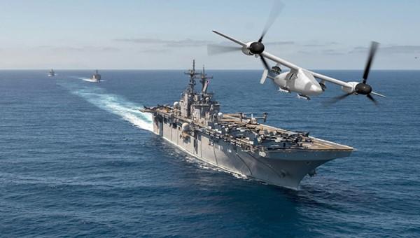美海军陆战队未来可能装备无人倾旋翼机,用于执行攻击、侦察等任务。