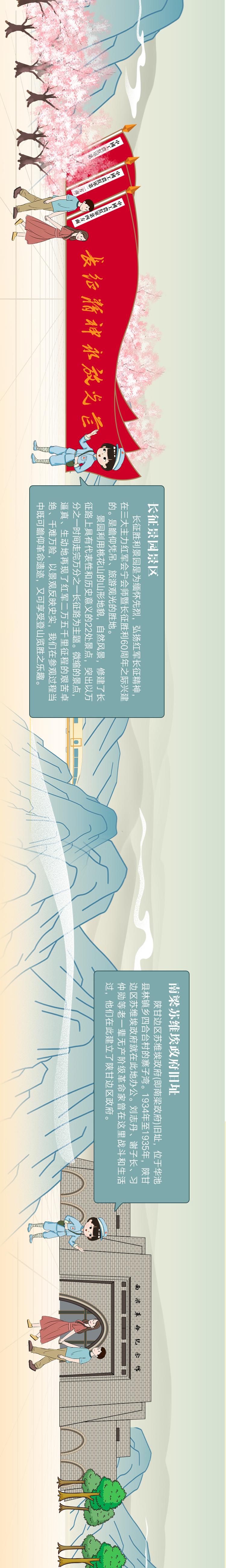 """長圖丨""""醉""""美隴原紅色旅游 尕蘭蘭帶你浪個夠!"""
