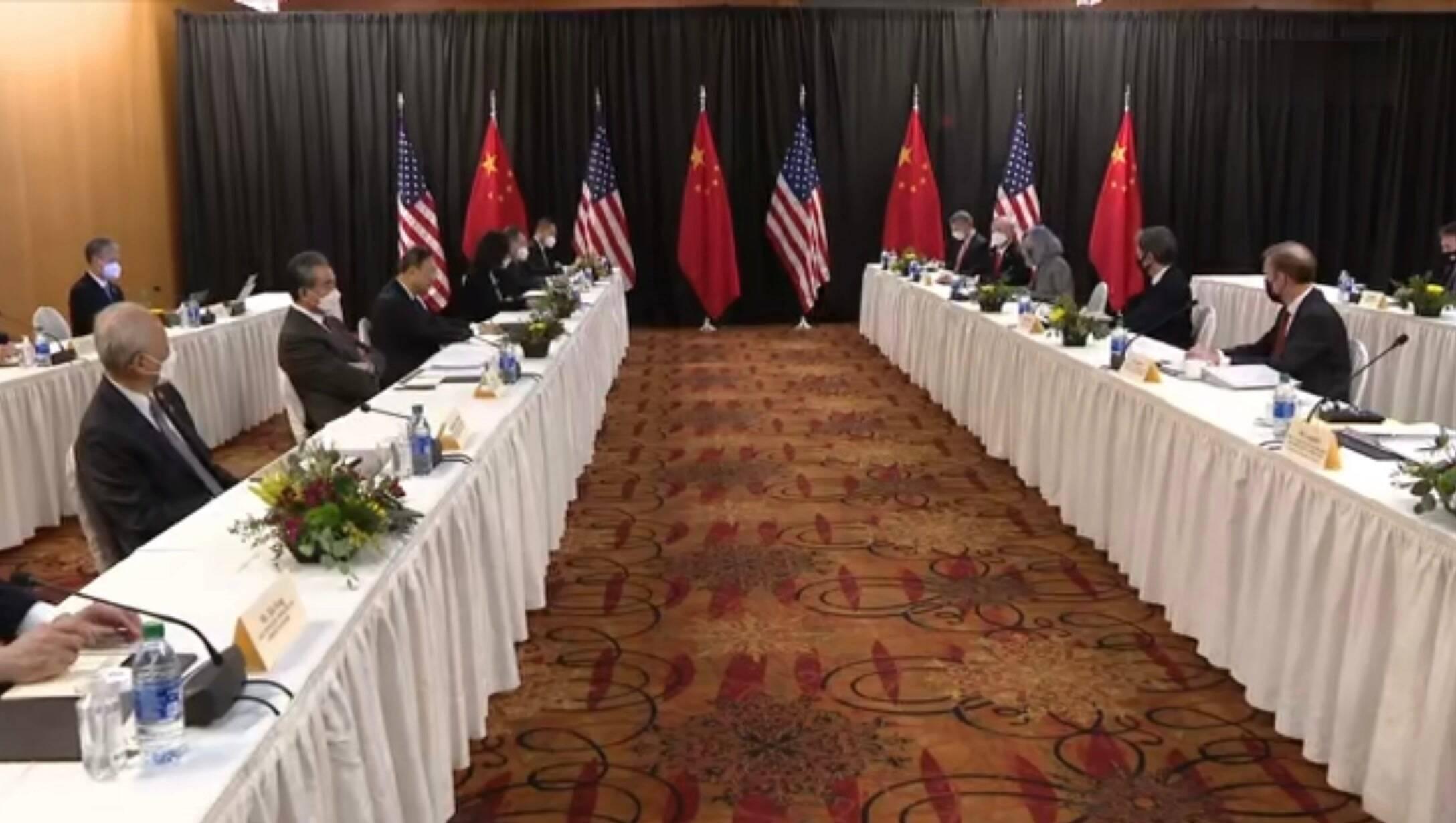"""美国外交官无理指责称中方开场白是""""表演"""""""