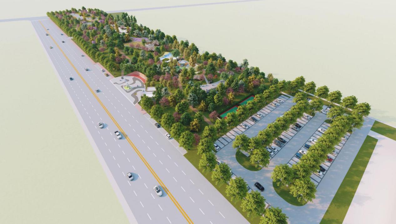 城市运动公园概念设计图