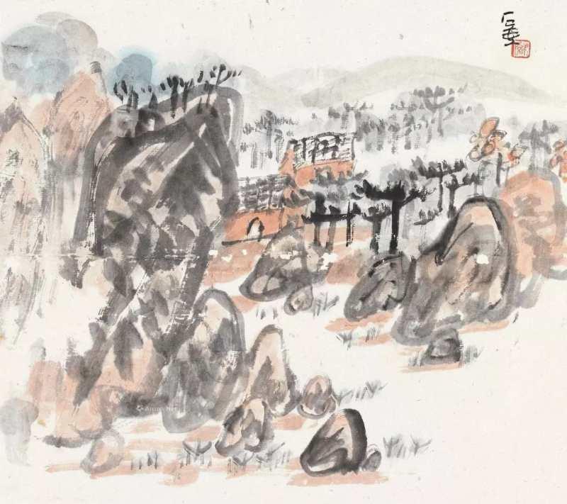 图9,陈子庄作