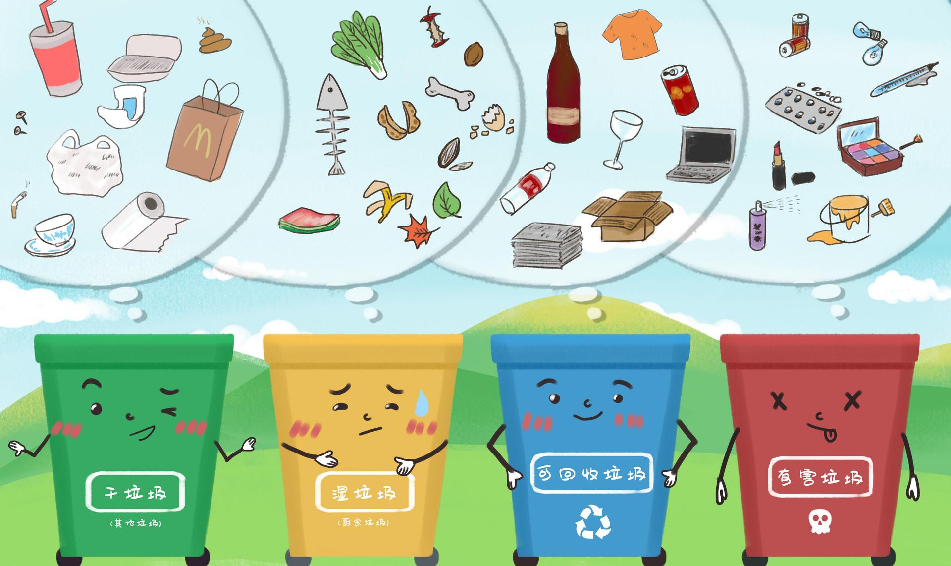 青岛人请留意,山东垃圾分类处所尺度6月1日起正式施行