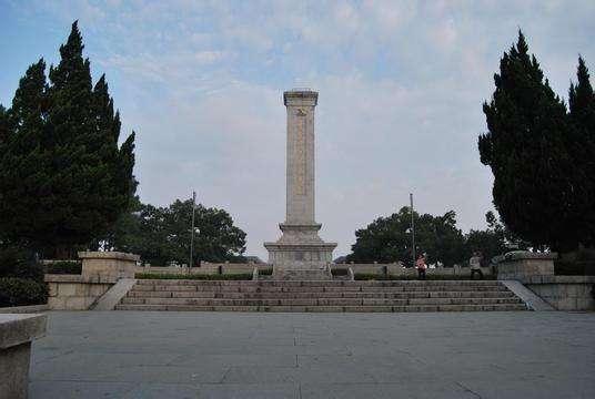 图5,四明山革命烈士纪念碑
