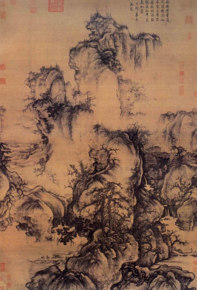 图1,《早春图》北宋· 郭熙