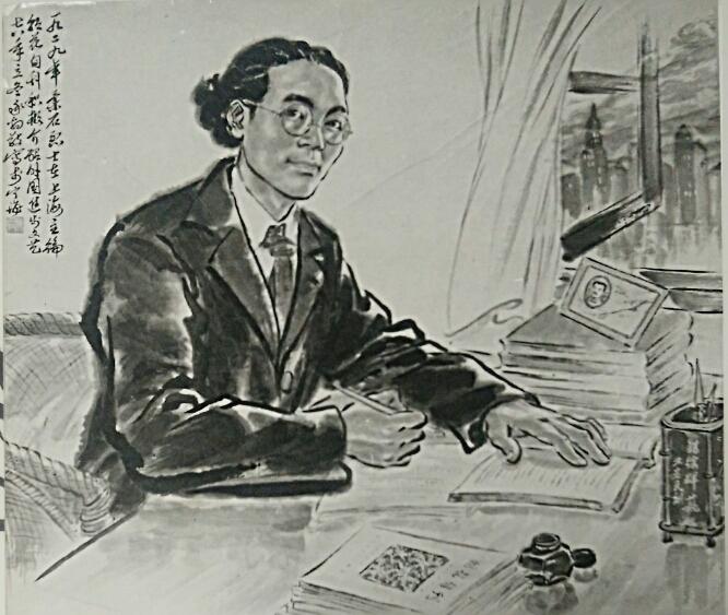 图4,《左联烈士柔石像》陈承豹 1978年作