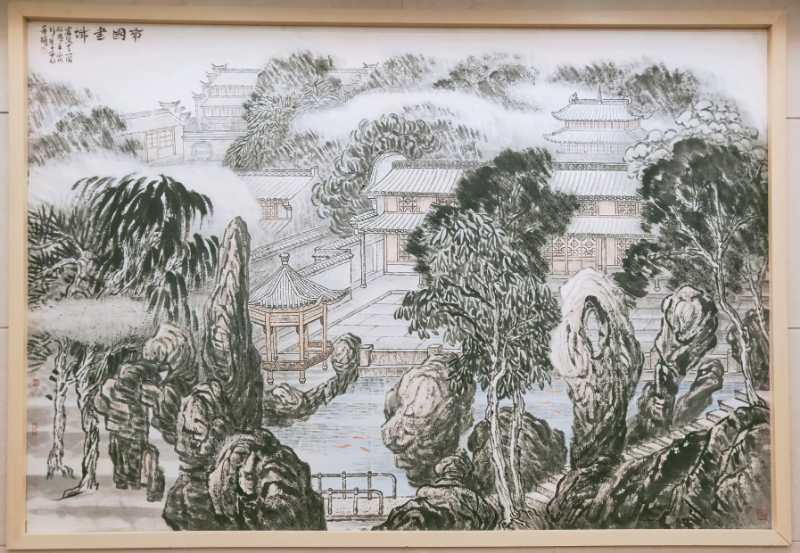 图3,《南国书城》 陈承豹作