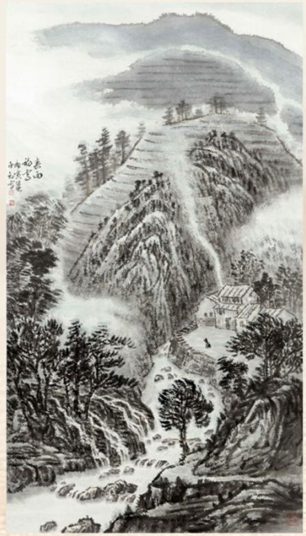 (图14) 春雨初霁 陈承豹