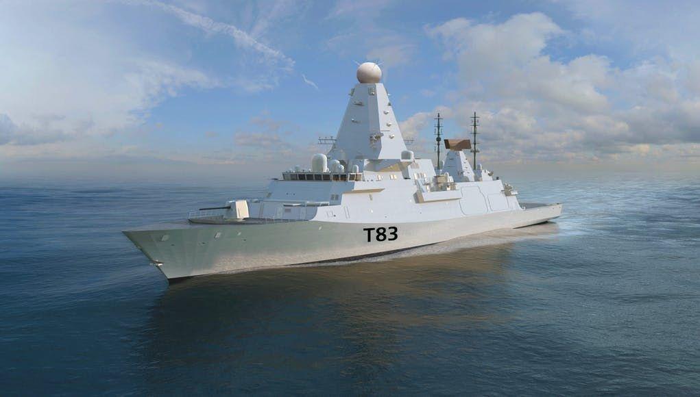英国皇家海军未来的83型驱逐舰想象图