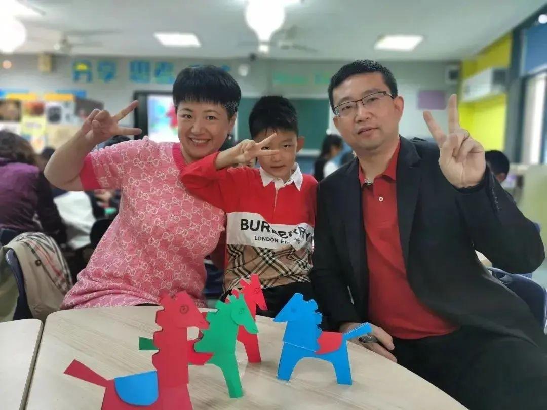 """一句倡议引发杭城亲子互动热潮!这些学校把""""家庭日""""玩出新花样"""
