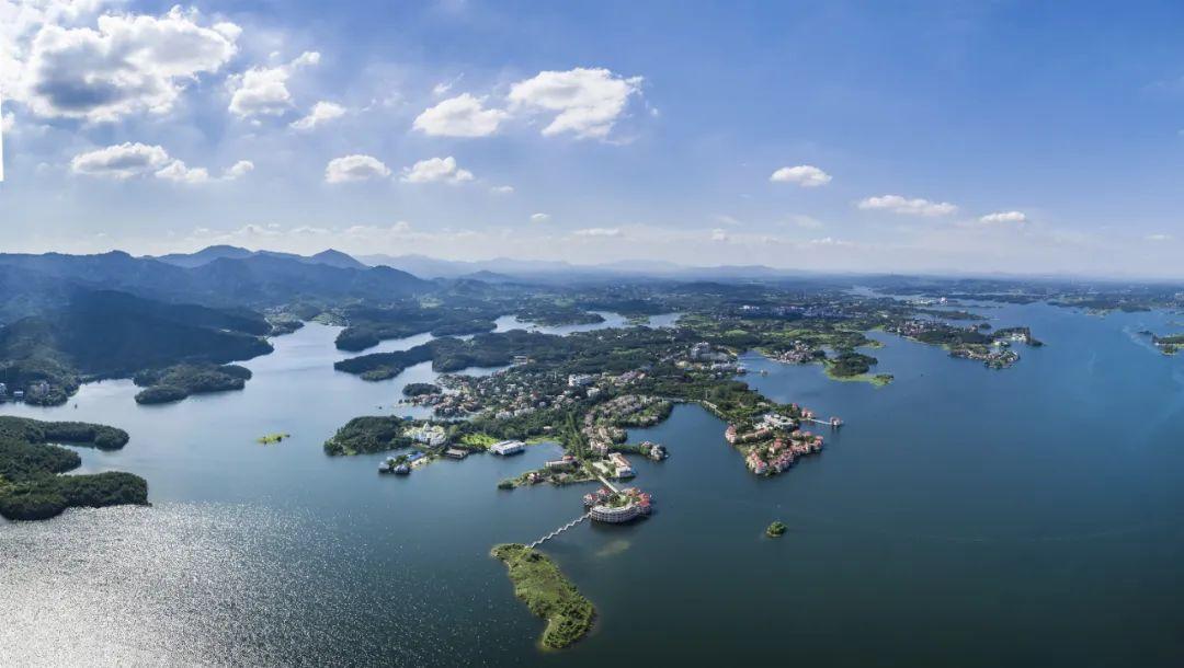 木兰湖国家旅游度假区。通讯员邱舒供图