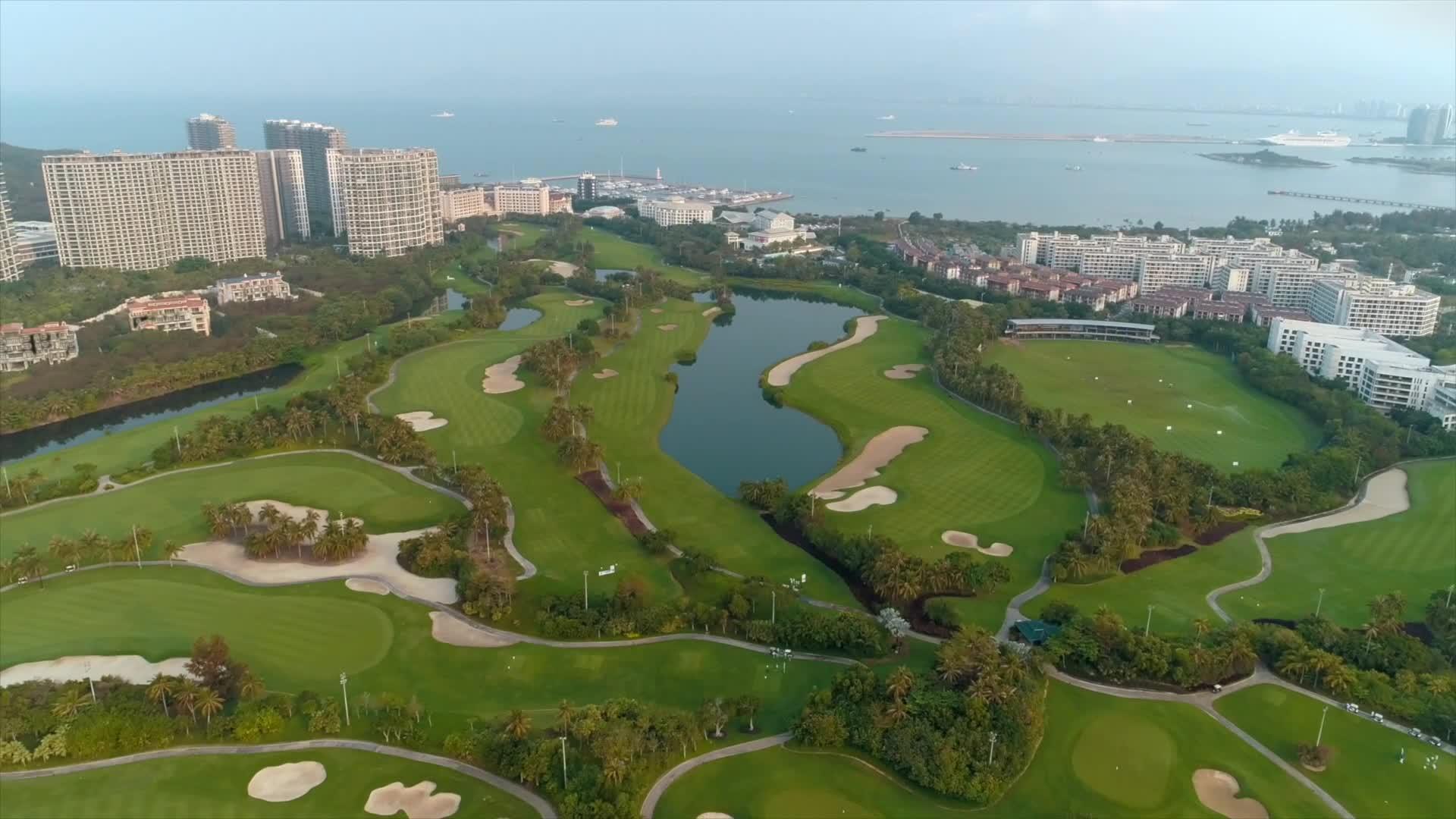 沃尔沃国际高尔夫挑战赛中国区总决赛(2020赛季)视频集锦