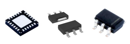 ▲各类驱动IC芯片