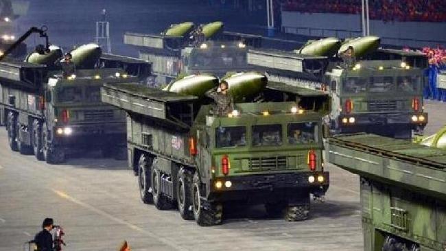 朝鲜宣布成功试射新型战术制导导弹 弹头重量增至2.5吨