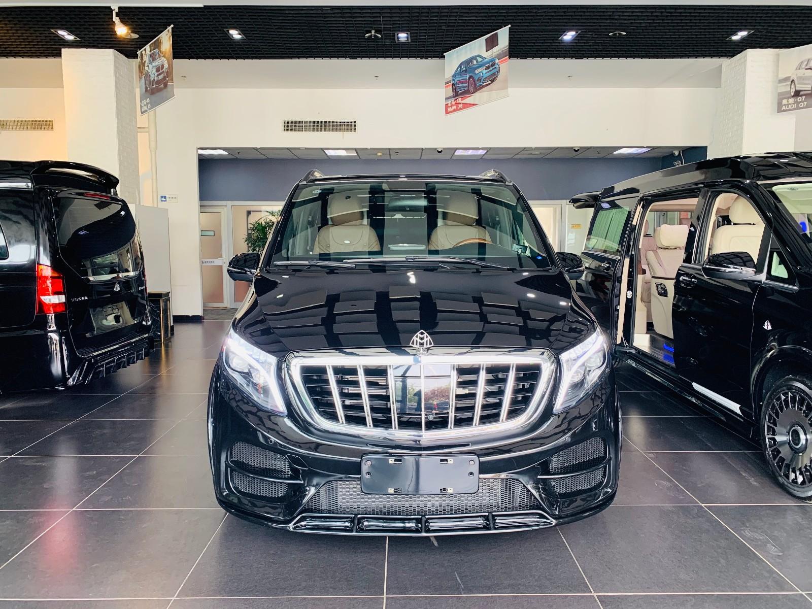 奔驰V260L改装商务车VS900最低价格