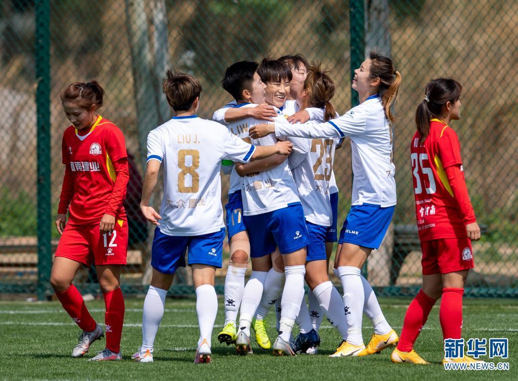 全国女子足球锦标赛:长春大众置业胜河南建业女足