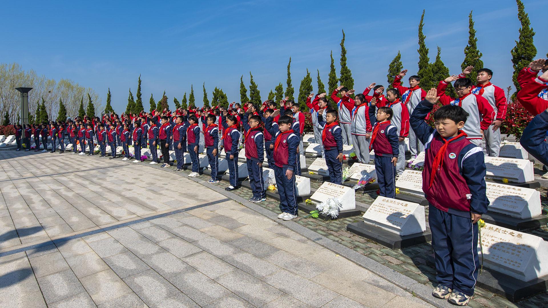 定遠:緬懷革命先烈 傳承紅色基因