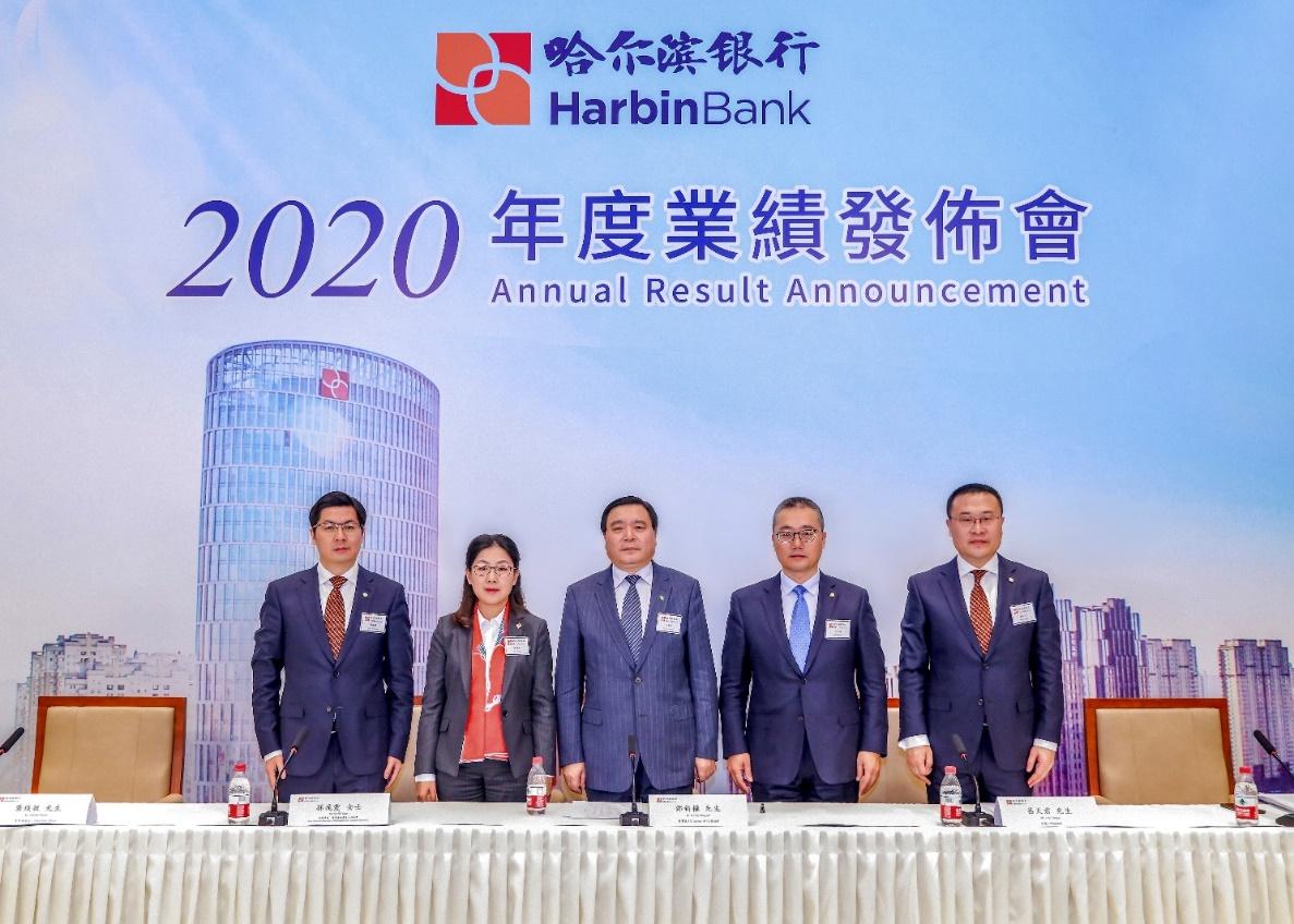 哈尔滨银行发布2020年业绩