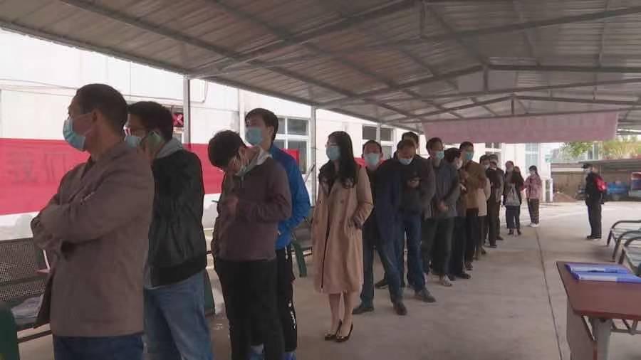宣城郎溪县机关事业单位干部职工带头接种新冠病毒疫苗