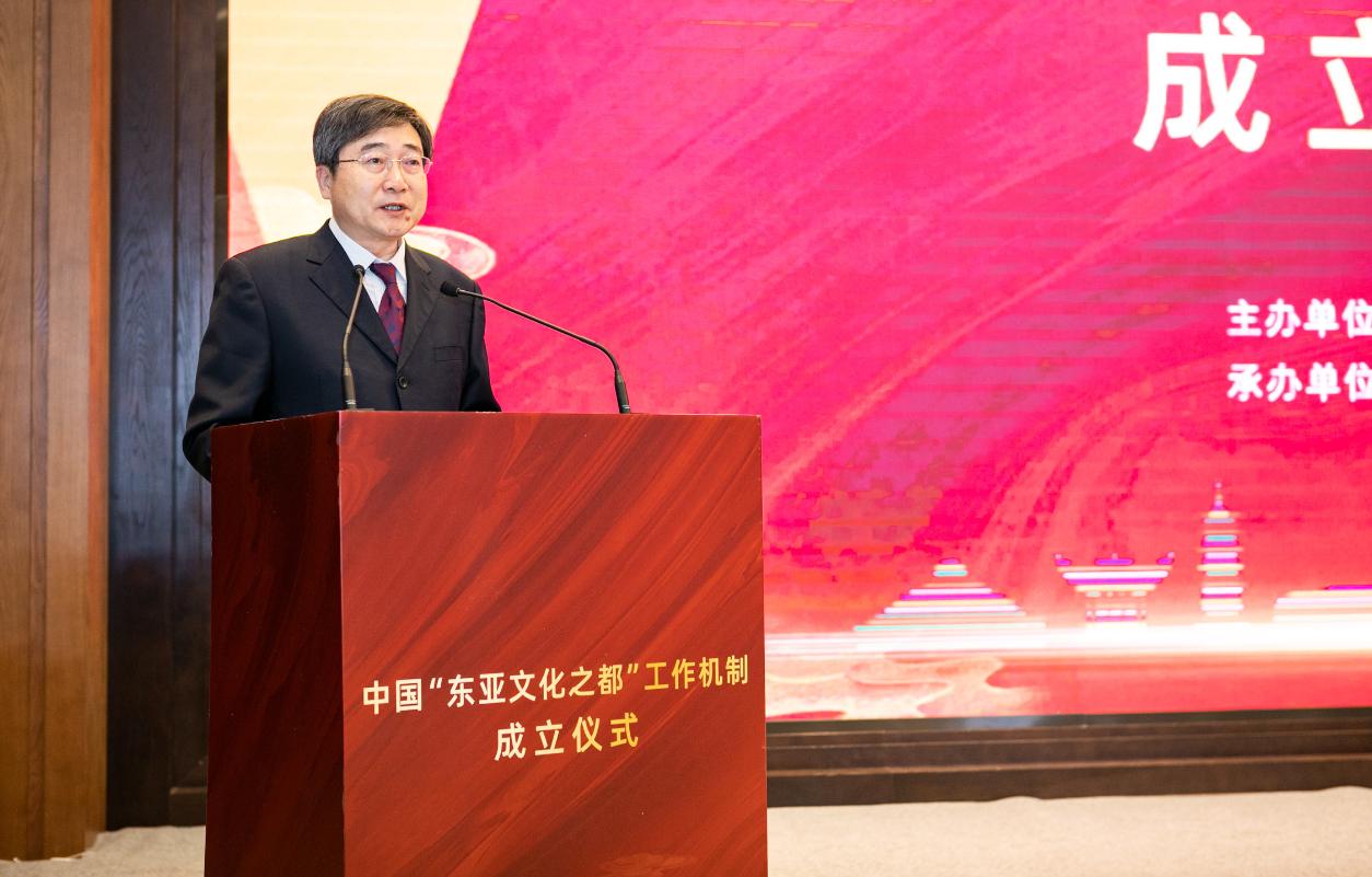文旅部党组成员、副部长张旭讲话 来源:绍兴市文化广电旅游局