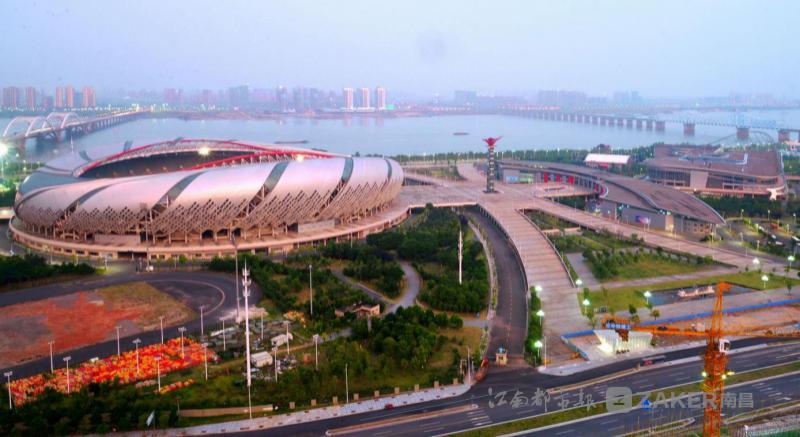 ▲江西省南昌市,南昌国际体育中心。