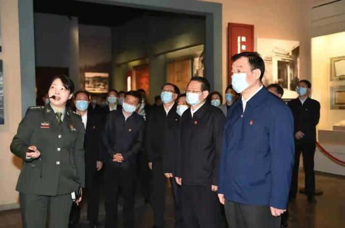扎实推进党史学习教育 江西省四套班子领导成员集体上井冈山