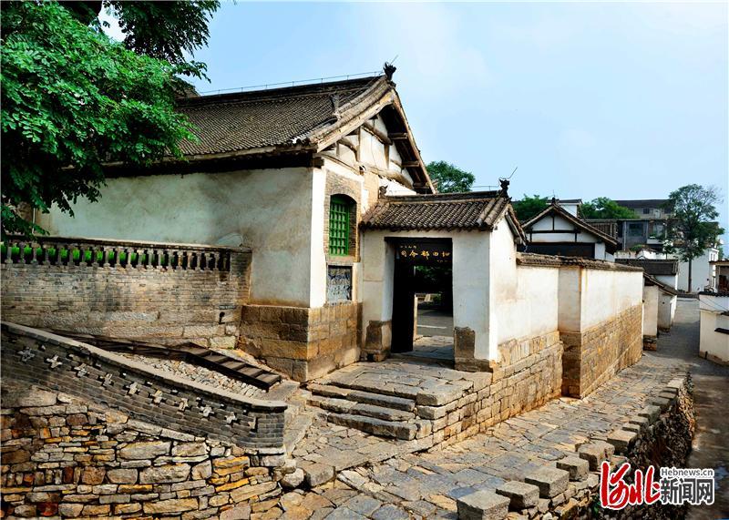 位于涉县赤岸村的八路军一二九师司令部旧址。 通讯员 冯晓广摄