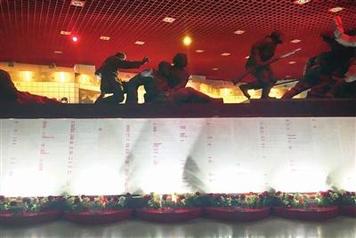 烈士名录墙 图片由平津战役纪念馆提供