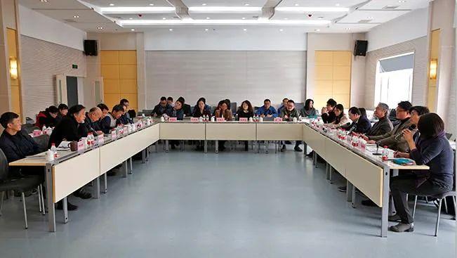 2016年3月日本东京艺术大学访问团在莫高窟举行座谈会