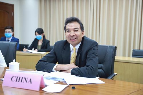 外交部副部长罗照辉履新国合署