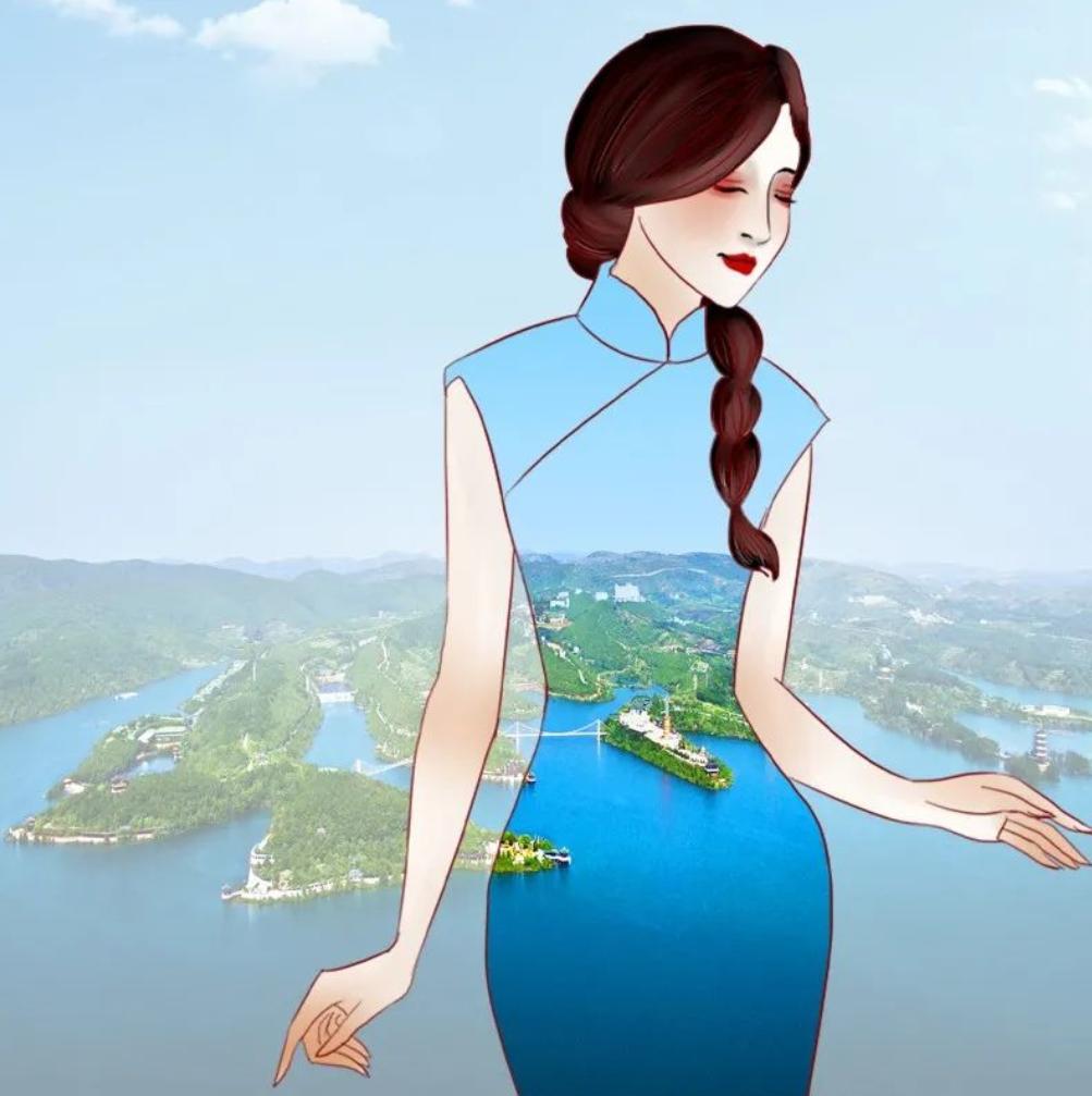 """丹江大观苑:这里竟然有《司藤》同款""""旗袍""""……"""