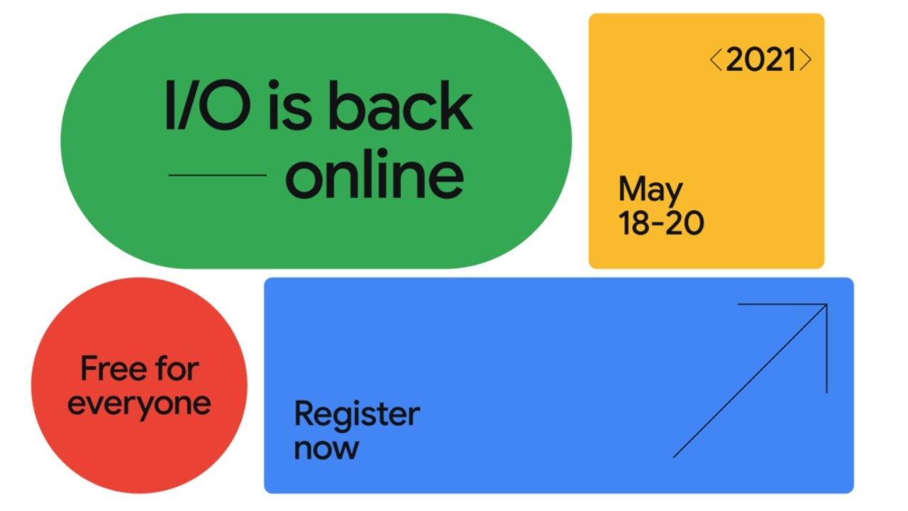 谷歌开发者大会2021将于5月18日开幕
