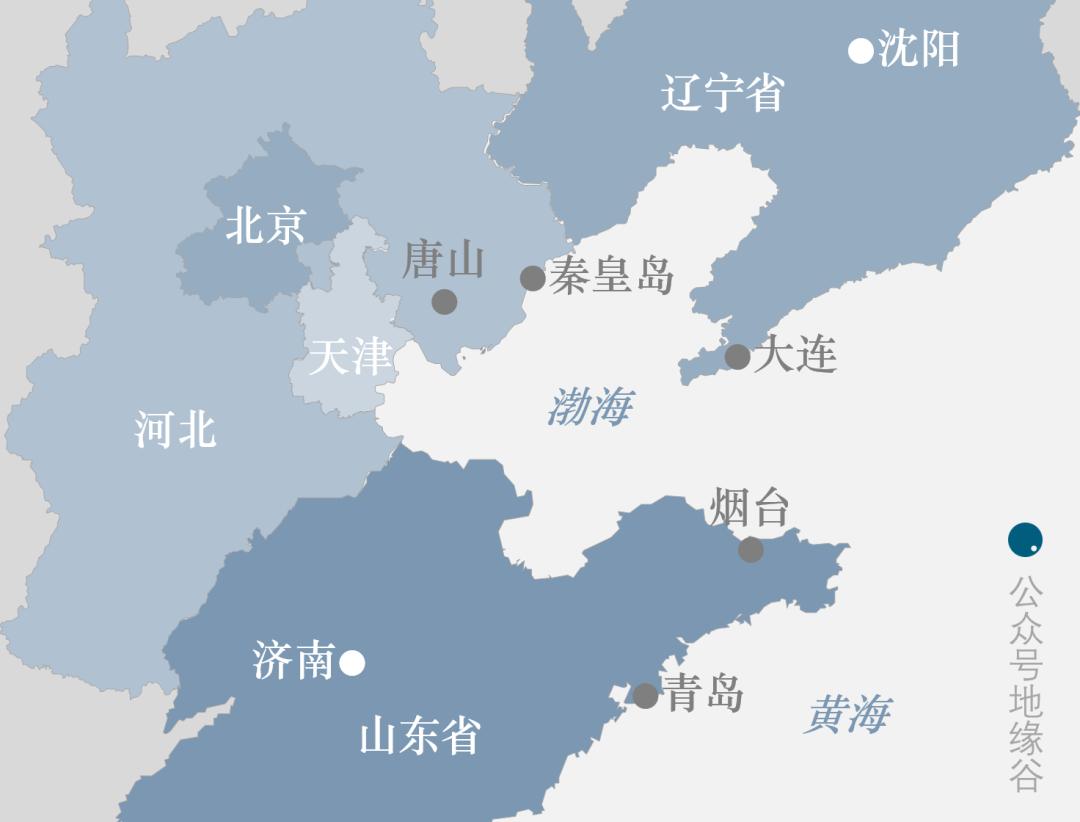 同处京津冀与环渤海交融中