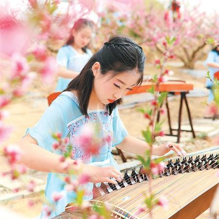 桃园古筝演奏