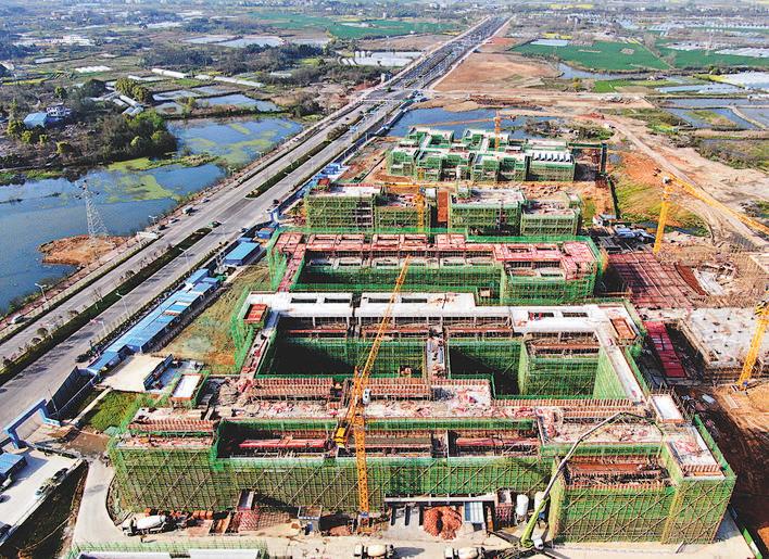 北师大铜陵学校项目目前加紧建设