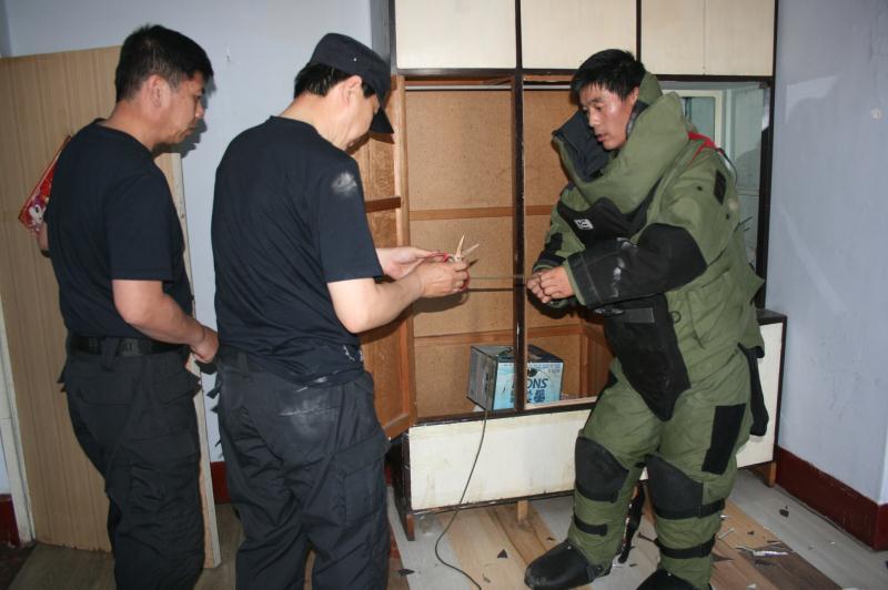 沈阳市公安局特警支队安检排爆中队 | 舍生忘死 无限忠诚