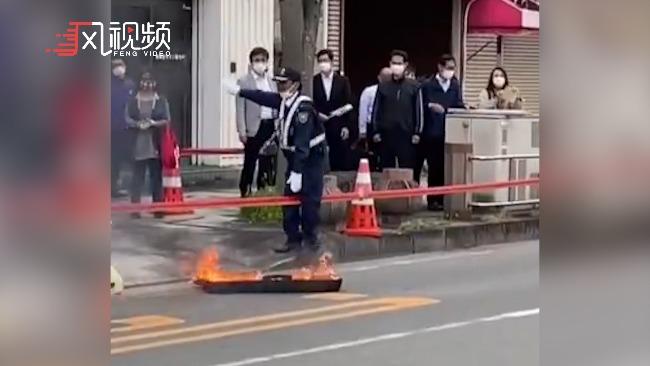 意外不断,命运多舛!东京奥运会火炬箱着火了
