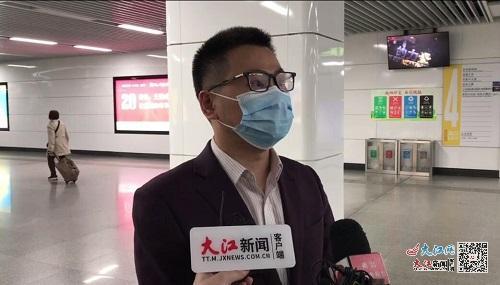 清明假期三日南昌地铁开行列车3049列次 客流276万