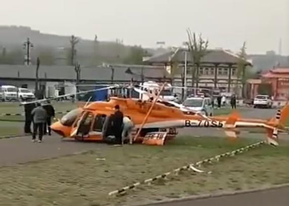 河南灵宝观光直升机坠落?官方回应