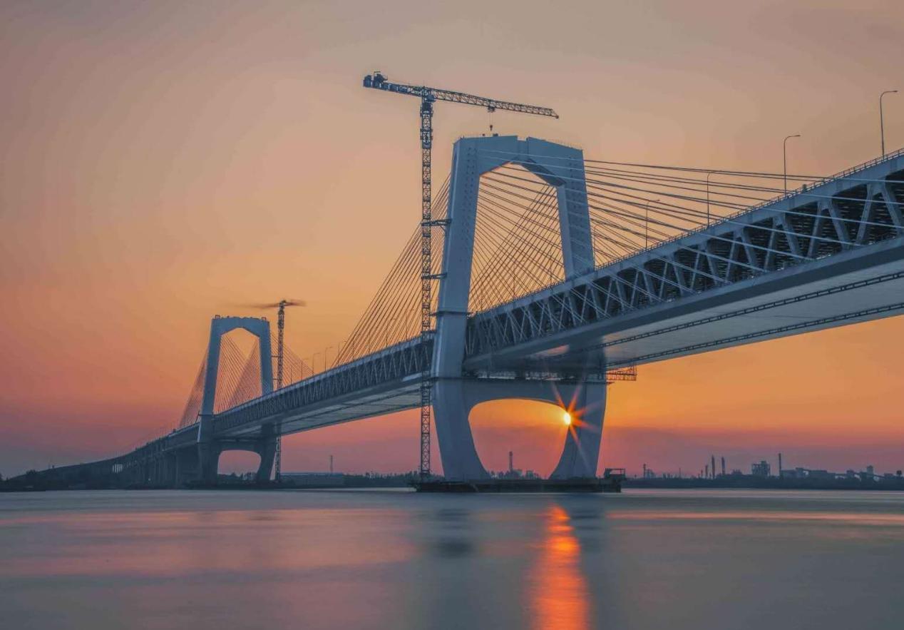 芜湖长江大桥 摄影/赵玮