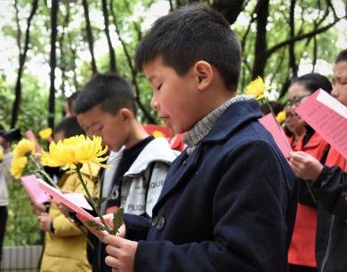 江西鄱阳:缅怀先烈 传承红色基因