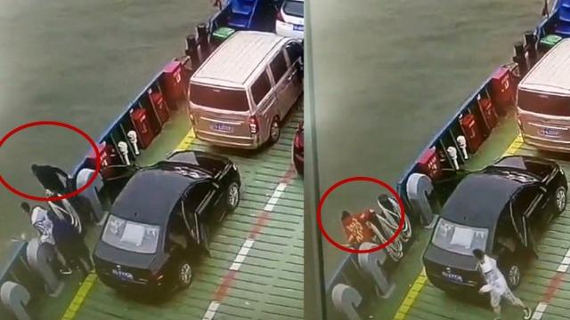 监拍:22岁女孩因父亲气话跳江 第一时间跳下去救她的也是父亲