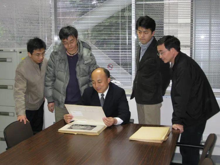 2009年王旭东访问东京艺术大学