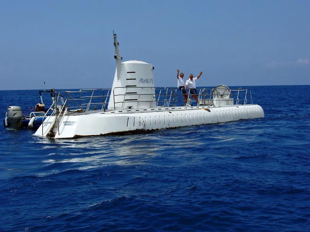 △亚特兰蒂斯潜水艇外观 。/flickr