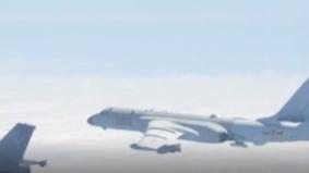 解放军军机喊话台军:这里都是中国空域!