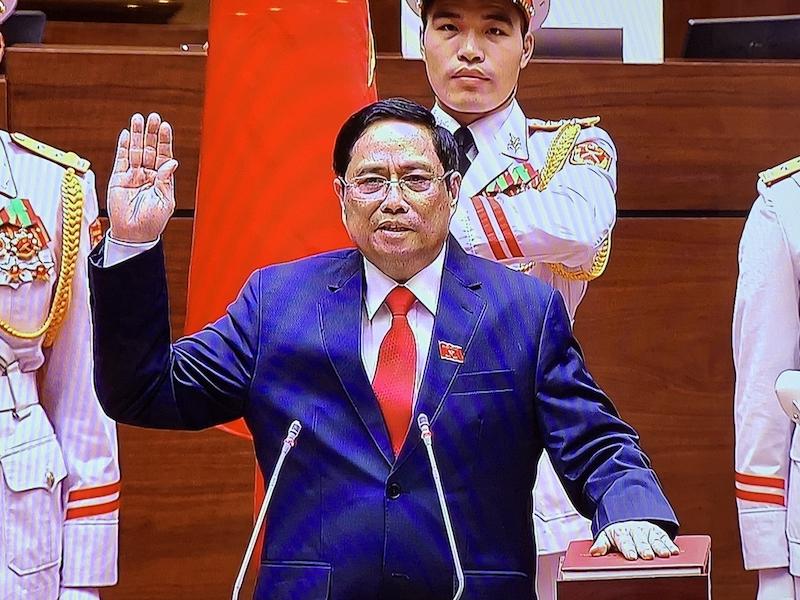 范明正当选新一任越南政府总理